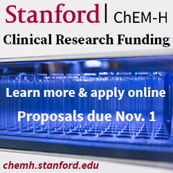 Stanford ChEM-H clinical research funding