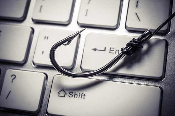 Getty illustration of computer email phishing