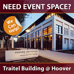 Ad for event space rental at Traitel
