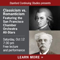 Stanford Continuing Studies event