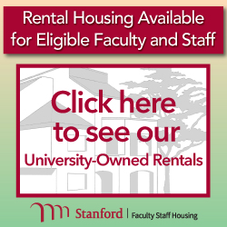 Housing programs for Stanford Faculty