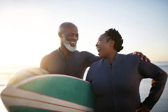 Active older couple by Getty Images