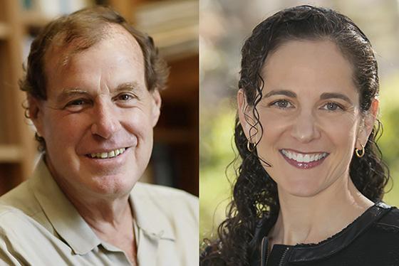 Thomas Heller and Alicia Seiger