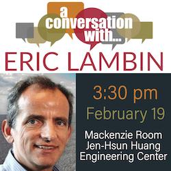 Conversation with Eric Lambin