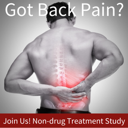 study for chronic low back pain.