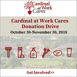 Cardinal at Work Cares Donation Drive
