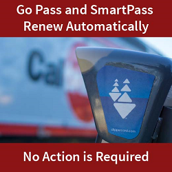 Go Pass and SmartPass Renew Automatically