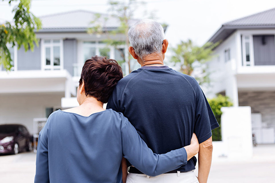 Getty Image of older couple