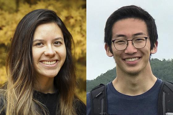 Hannah Knowles and Daniel Yang