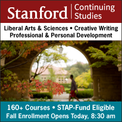 Stanford Continuing Studies Fall 2019
