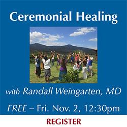 CBD announcement Ceremonial Healing