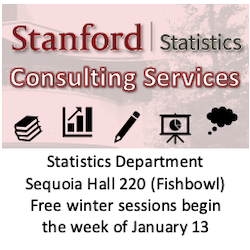 Dept. of Statistics statistical consulting
