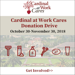 Cardinal at Work Donation Drive