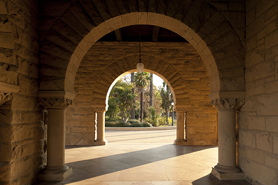 Main Quad arches