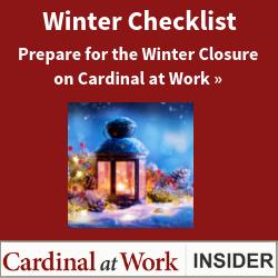 Winter Closure Checklist