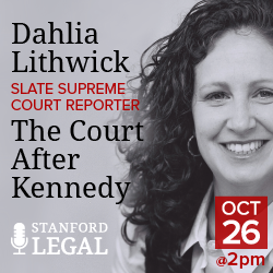 Stanford Legal on Sirius XM radio
