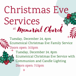 Christmas Eve Holiday Services