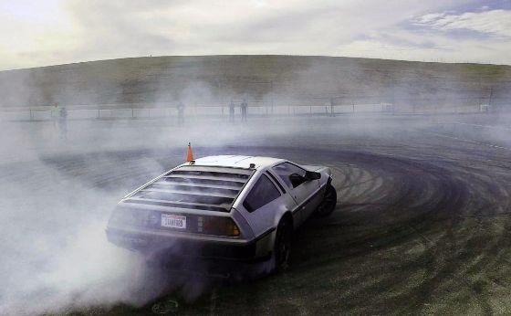 Marty, the autonomous drifting DeLorean