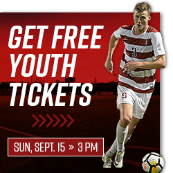 Free youth tickets to Men's Soccer