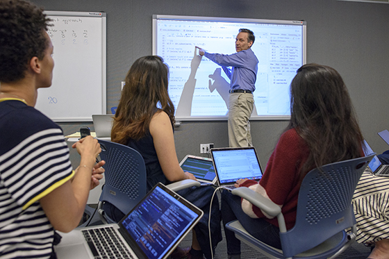 Stanford classroom