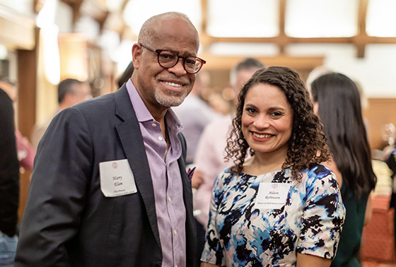 New faculty reception
