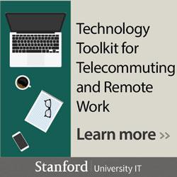 University IT - telecommuting toolkit