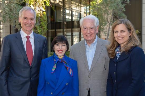 Marc Tessier-Lavigne, Carolyn Franke, William A. Franke, Elizabeth Magill