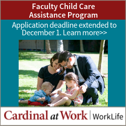 The Faculty Child Care Assistance Program