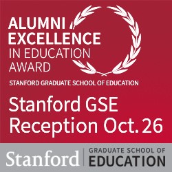 10/26 GSE Alumni Award Reception