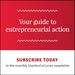 Stanford eCorner newsletter