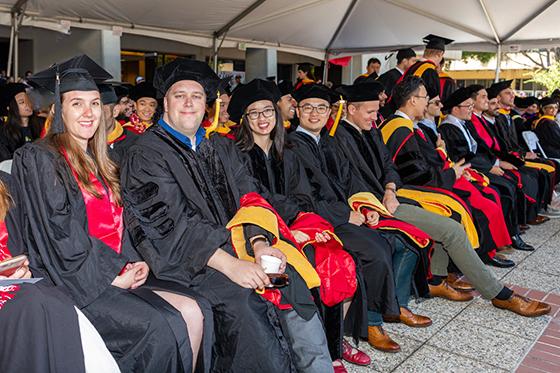 Stanford Earth graduation