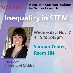 Erin Cech - Inequality in STEM