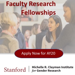 Faculty Research Fellows for AY20