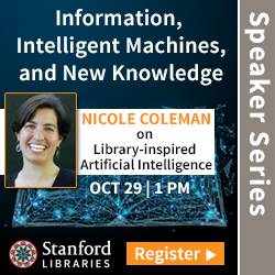 nformation, Intelligent Machines, and New Knowledge