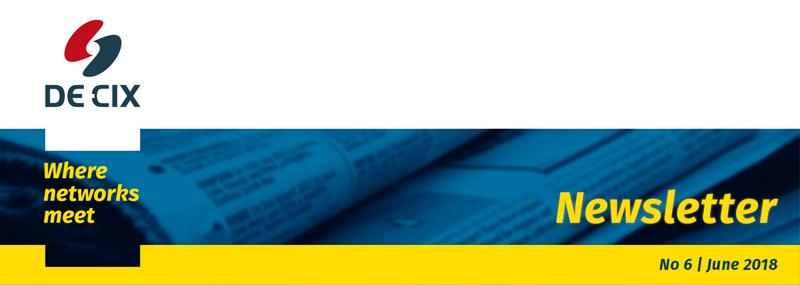 DE-CIX newsletter