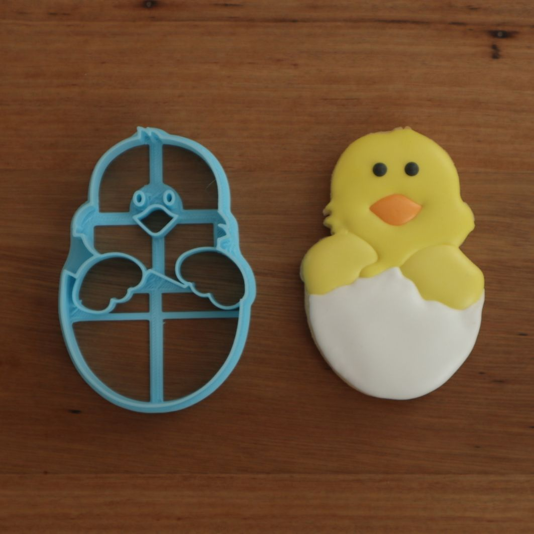 Easter Chick hatching Cookie Cutter