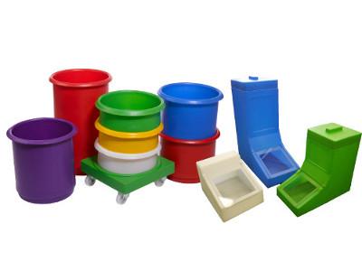 Fargekodede beholdere