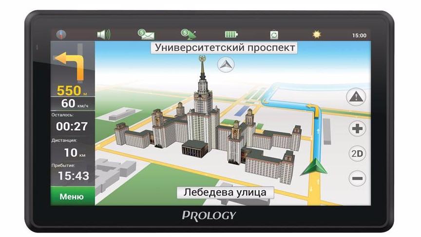 Способы обновления навигатора Prology