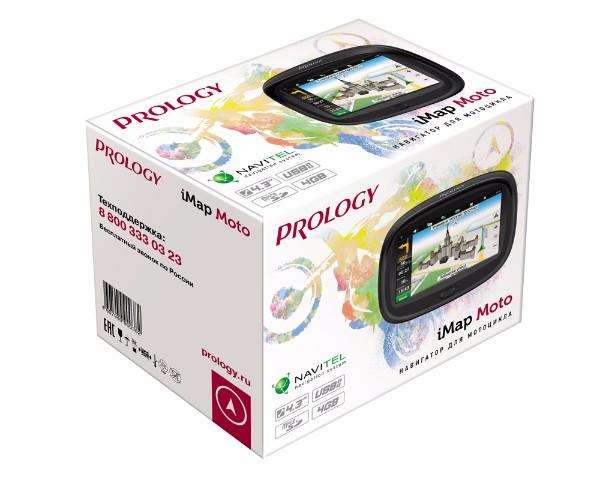 Портативная навигационная система PROLOGY iMap MOTO