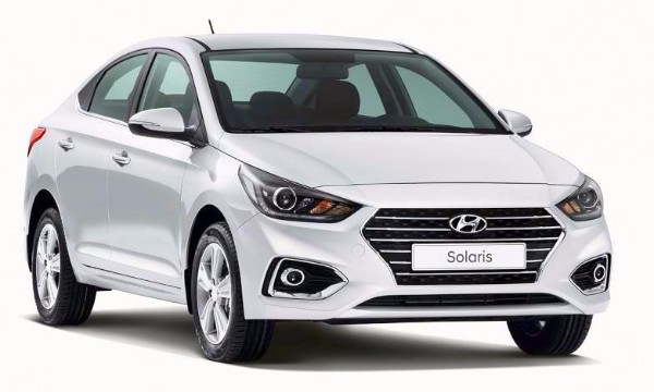 Hyundai Solaris 2017--