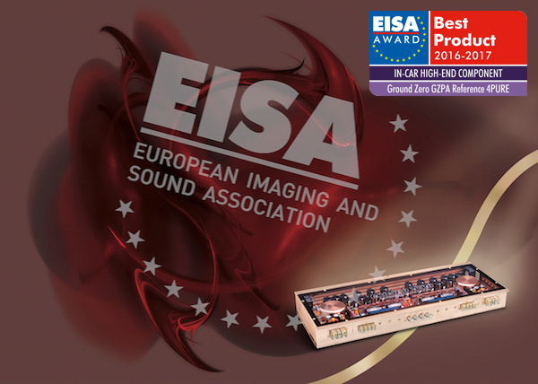 Посмотрите официальный видеоролик победителя EUROPEAN IN-CAR HIGH-END COMPONENT 2016-2017 Ground Zero GZPA Reference 4PURE