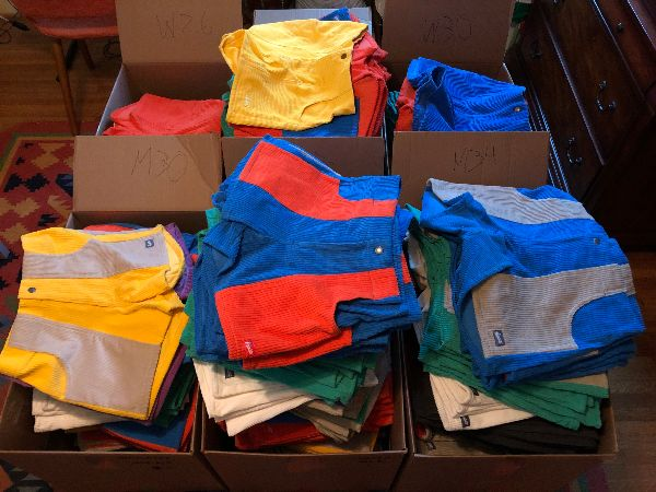 Box of shorts