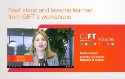 Next steps and lessons learned from GIFT's workshops (Peer Learning)