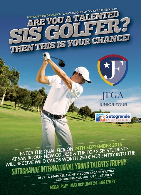 Are you a talented SIS Golfer? img