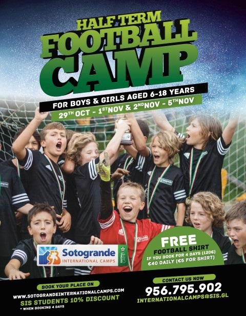Half Term Football Camp img