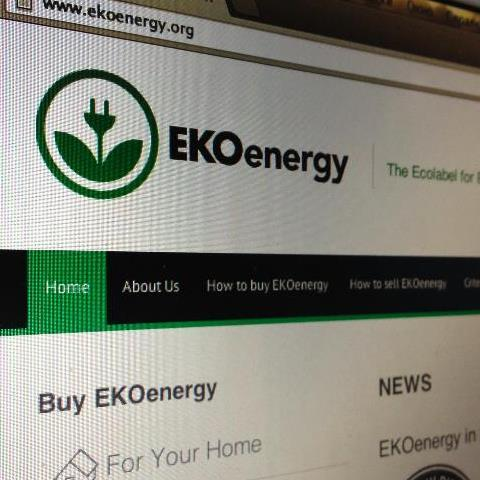 EKOenergy website