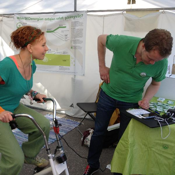 EKOenergy at World Village Festival