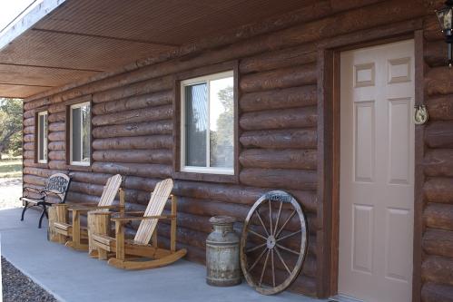 Spring Canyon Porch