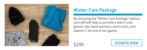 $200 – Winter Care Package