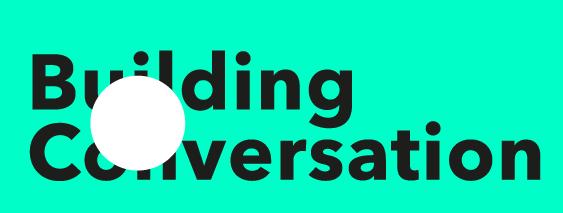 building conversation logo